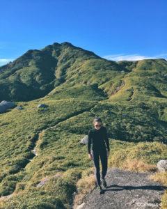 Wandern Berge Gipfel Frau